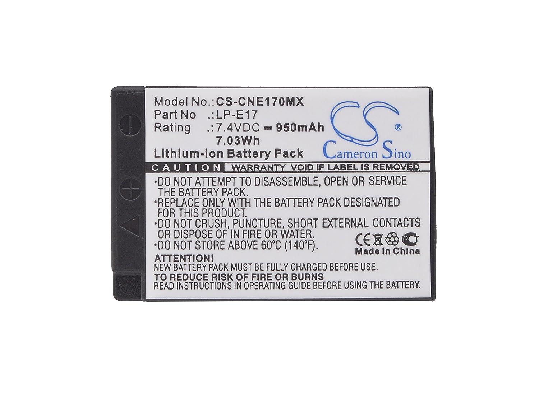 Canon original lp-e17 batería para eos 750d 760d y m3 mercancía nueva original LP e17