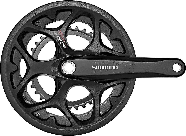 SHIMANO Tourney FC-A070 Set de Biela 7/8 velocidades Protector de ...