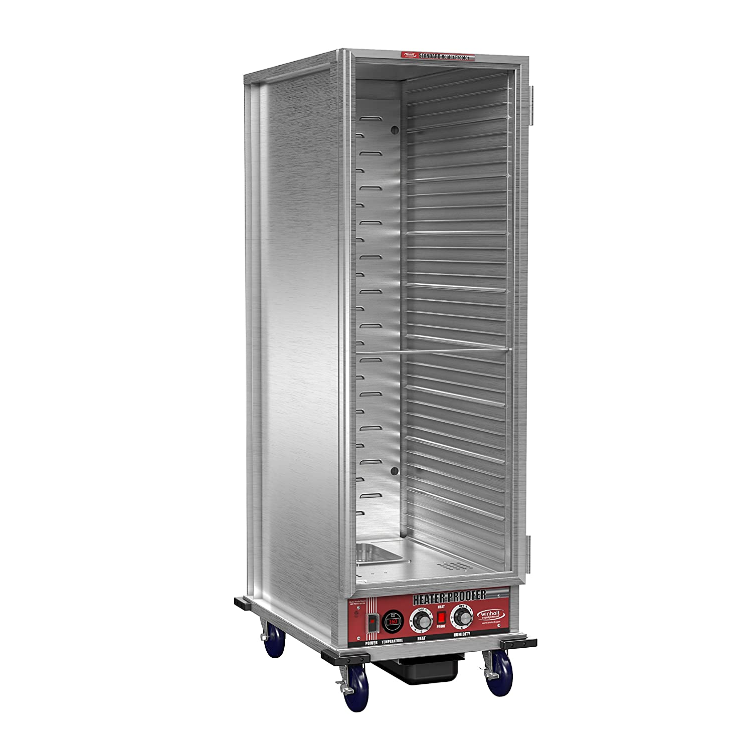 Winholt NHPL-1836C Non-Insulated Heater Proofer/Holding Cabinet with Corner Bumpers