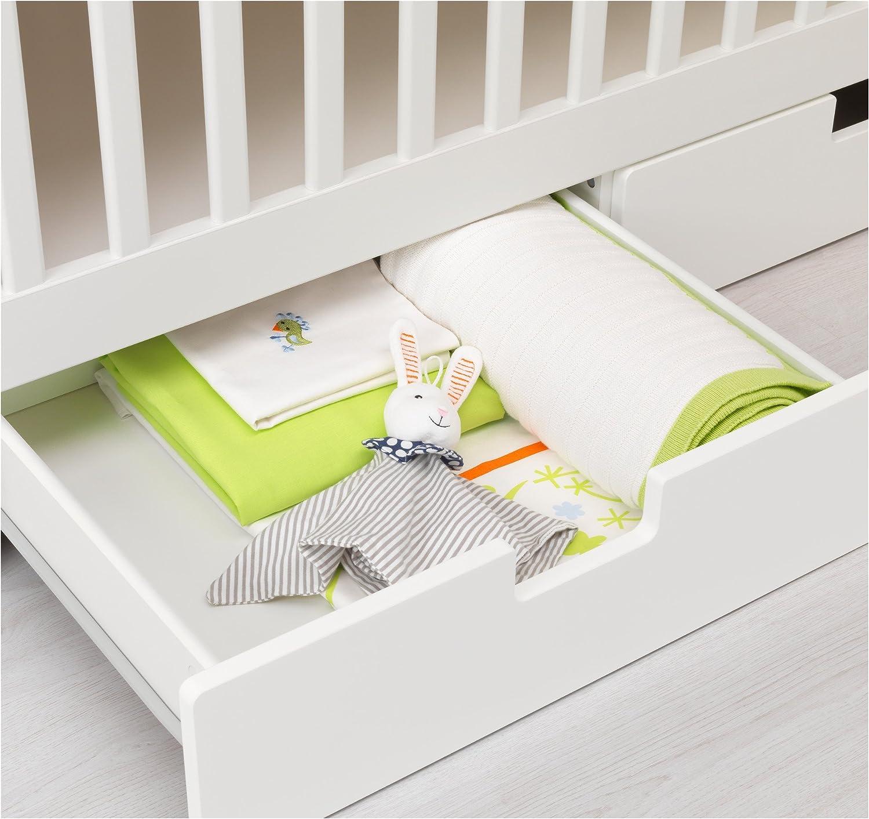 Zigzag Trading Ltd IKEA STUVA - Cuna Blanca con cajones ...