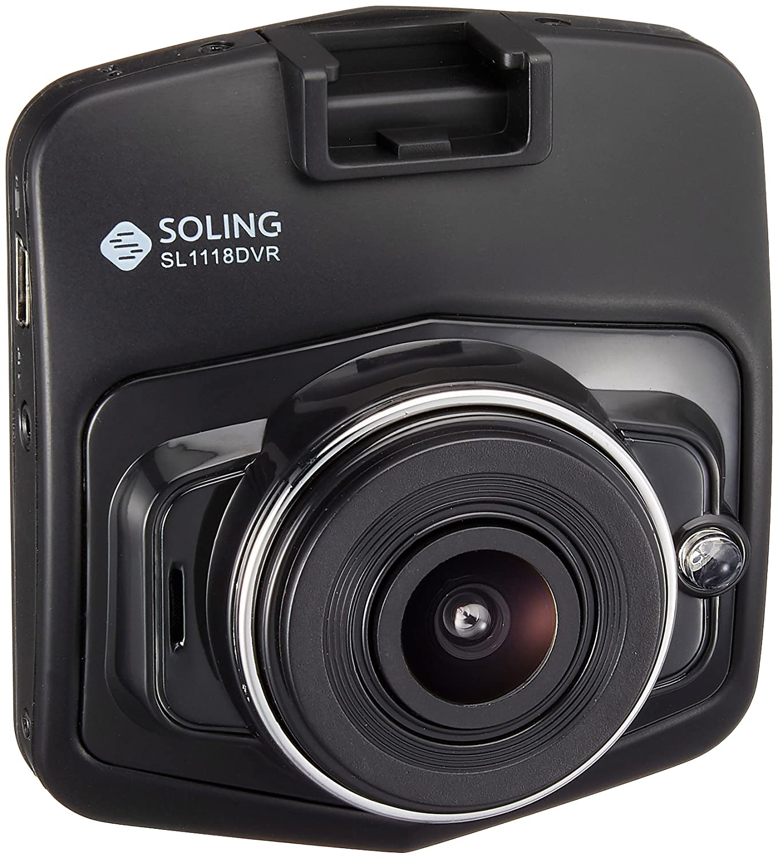 デンソーテン販売 ソーリン 駐車監視モード搭載 リヤカメラ付 カメラ本体一体型ドライブレコーダー SL1118DVR B079HSYWMW
