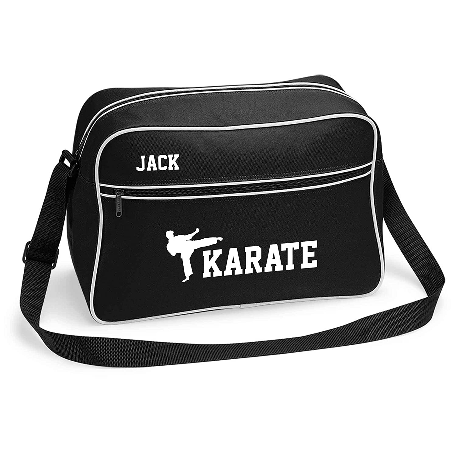 ac1a69089c2 Karate Sports Bag Holdall White or Black.Perfect for your Kit. Personalised  Free
