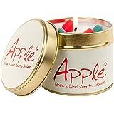 Lily Flame Apple Tin, White, l x 7.7cm w x 6.6cm h