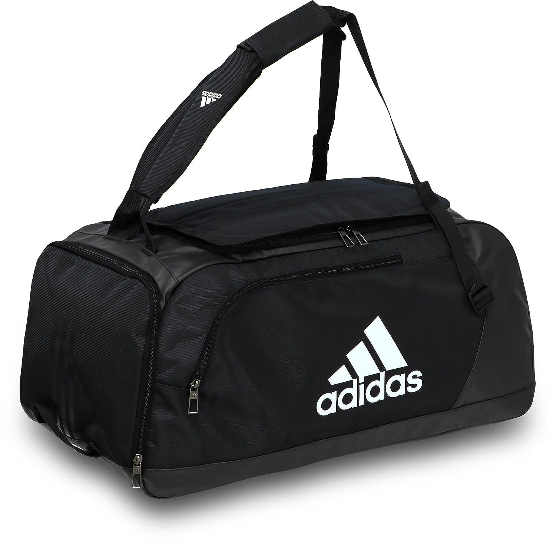 ボストンバッグ スポーツバッグ 大容量ボストンバッグ 3ウェイバッグ 修学旅行 ダッフルバッグ アディダス/EPS チームバッグ 50L DMD01 (BS0795-ブラック) B075STSF5F
