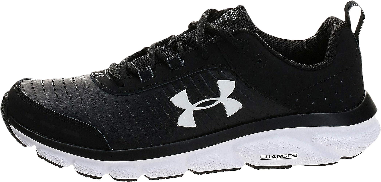 Estrictamente Solicitante Cuerpo  Amazon.com | Under Armour Women's Charged Assert 8 Limited Edition Running  Shoe, Black (001)/White, 5 | Road Running