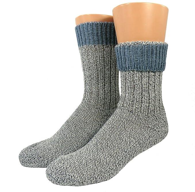Unisex Calcetines de lana con Suela de felpa: Amazon.es: Ropa y accesorios