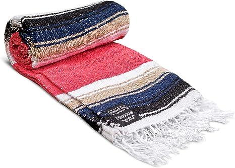 Amazon.com : Mexican Blanket, Premium Yoga Blanket ...