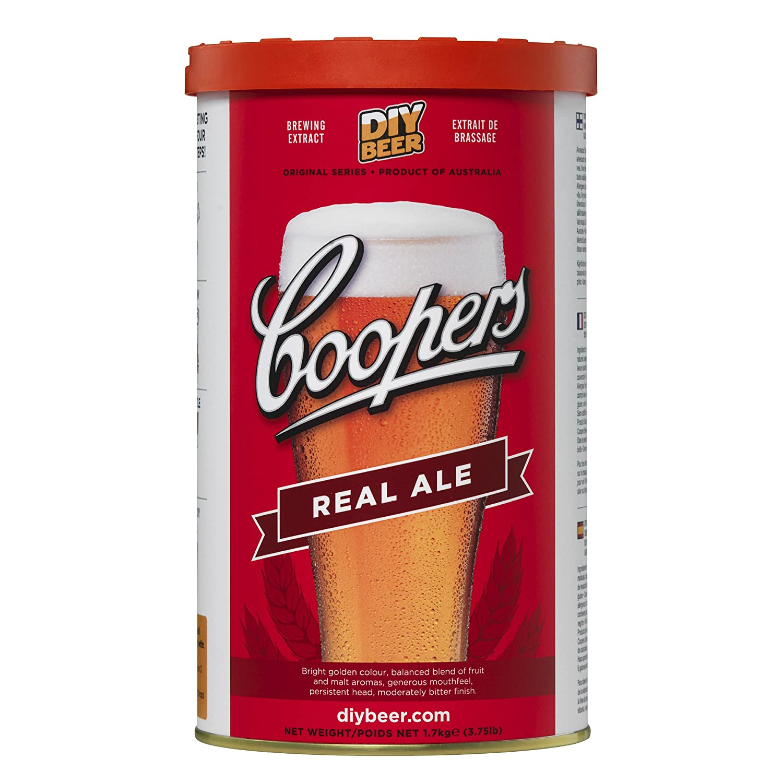 Coopers Real Ale 40 Pint 1.7kg Hause Brauen Bier Set 884