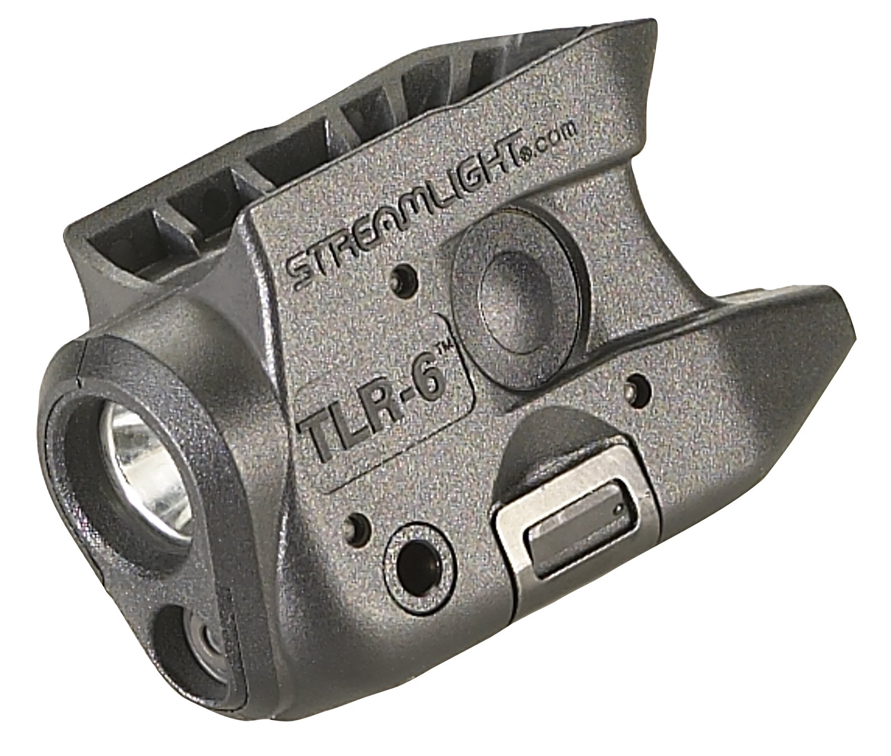 Streamlight 69274 TLR-6 Tactical Pistol Mount Flashlight 100 Lumen with Integrated Red Aiming Laser for KAHR Arms CM/CT/CW/P/PM/TP Both 9 and 40 Only, Black - 100 Lumens