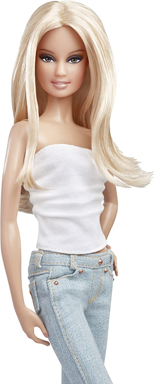 Barbie Basics Collection 002~Complete Mint Light Jean Fashion~2011~NO DOLL