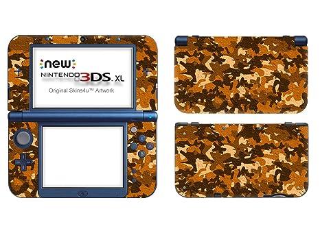 Skins4u – Adhesivo y película protectora para Nintendo 3DS XL