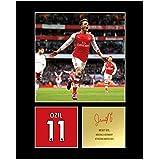 My Prints Mesut Ozil Signed Mounted Photo Display Arsenal