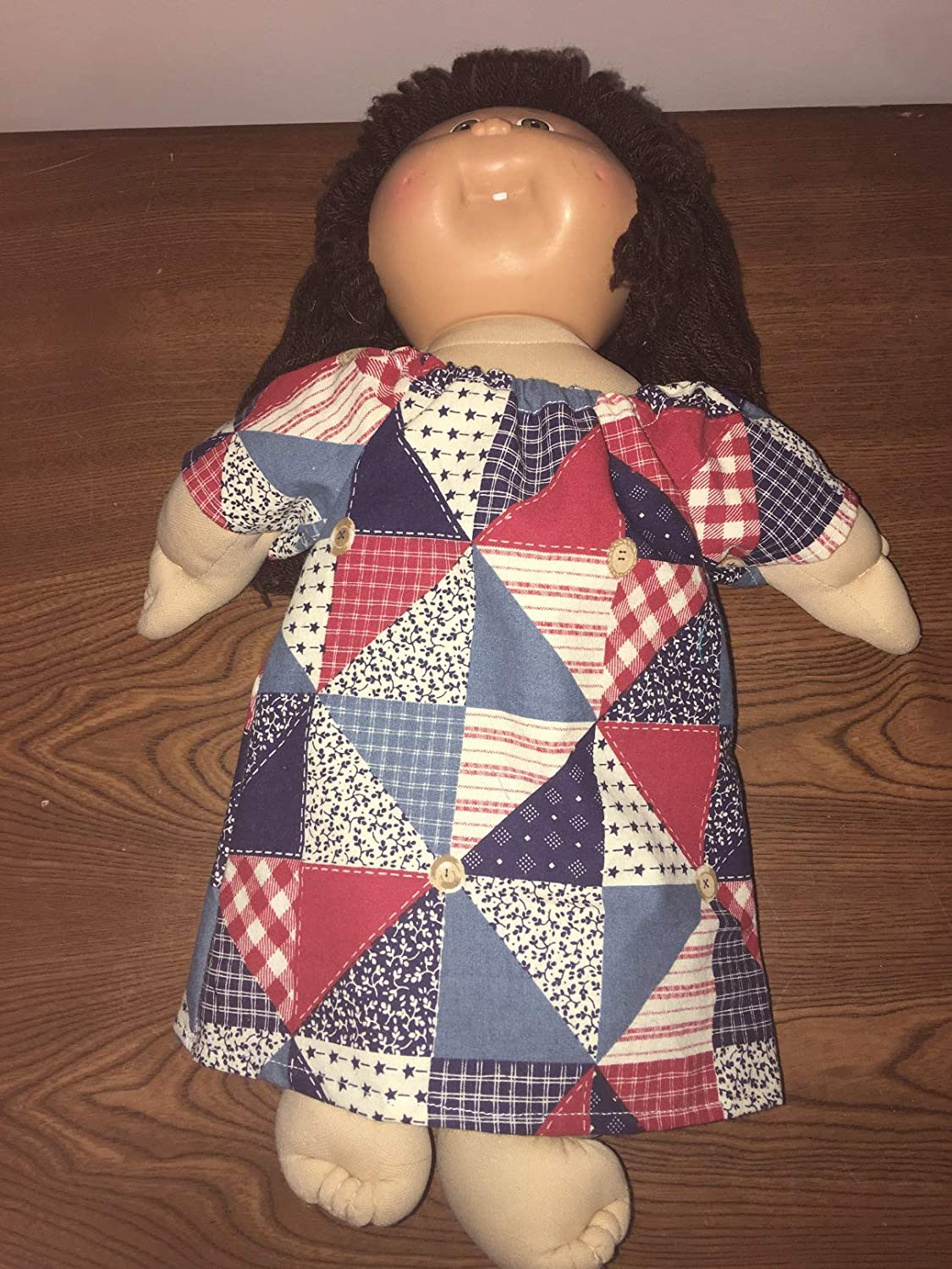 Fits Cabbage Patch Kids Doll Clothes Peasant Dress Spring Night Gown Costume Handmade Clothes Only