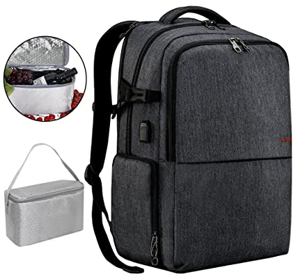 Amazon.com  17 inch Laptop Backpack with USB Charging Port 75aee3474a343