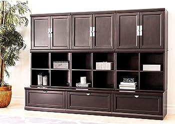 Abbyson Living 9-Pc Modular Wall Storage Unit