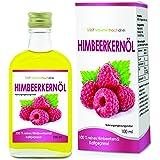 Alpvital Himbeerkernöl 100% rein kaltgepresst 100ml - Haut, Immunsystem, Herz-Kreislauf