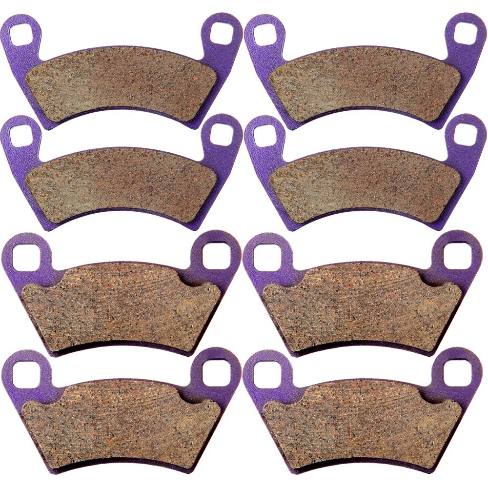 OCPTY Carbon Fiber Brake Pads FA354 FA452 Fit for 08 09 10 11 12 13 14 Polaris Ranger EV XP RZR XP 500 700 800 900 Crew 500 Front and Rear by OCPTY