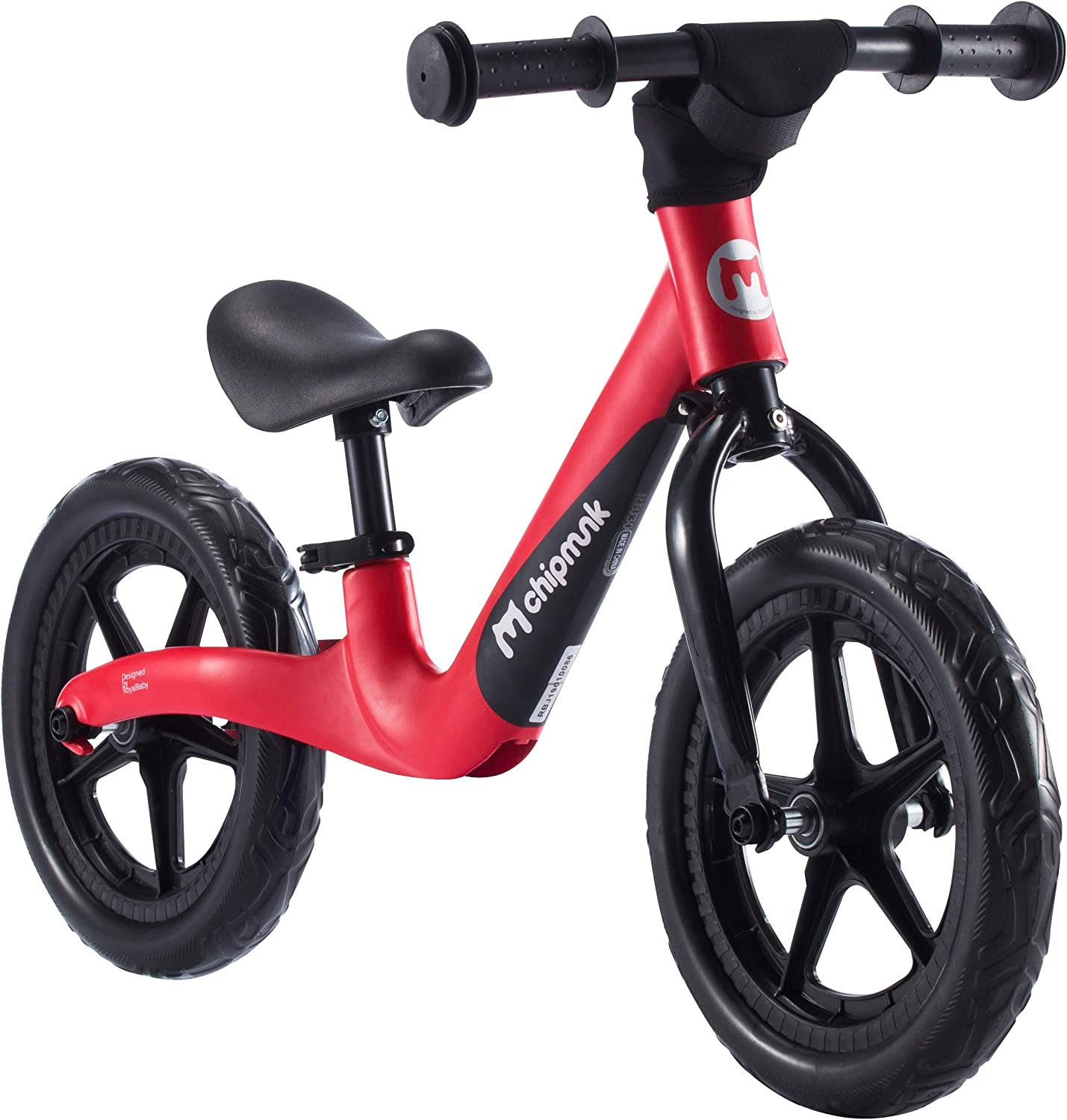 Chipmunk RoyalBaby Sport Balance Bike for 2 to 5 Years Boys and Girls EVA or Airfilled Tire No Pedal Walking Bike with Lightweight Magnesium Frame Multicolor Available
