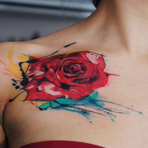Amazon Com Watercolor Tattoo Design Idea Vol 1 Appstore For Android