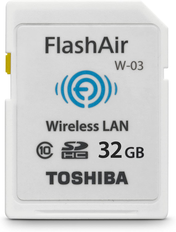Amazon.com: Toshiba 32GB FlashAir III Wireless SD Memory ...