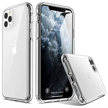 ULAK Compatible with iPhone 11 Pro Max Case, Clear Hybrid ...