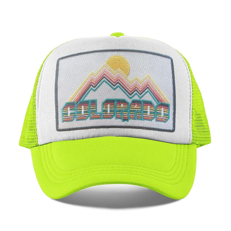 86cc05a1e Amazon.com: Colorado Kids Hat - Retro Infant Hat/Baby Hat/Toddler ...