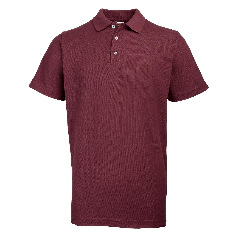 cf57e7650 Rty Workwear Mens Pique Knit Heavyweight Polo Shirt (S-10XL) Extra Large  Sizes  Amazon.co.uk  Clothing
