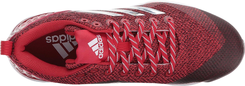 Adidas Herren PowerAlley 5 Freak X Carbon Mid Power Red Silver Meter Ftwr White
