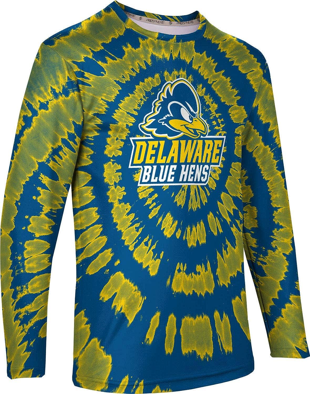 Tie Dye ProSphere University of Delaware Mens Long Sleeve Tee