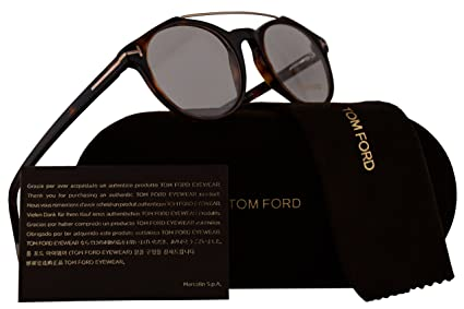 b609689673b Image Unavailable. Image not available for. Color  Tom Ford FT5455  Eyeglasses 50-20-145 Dark Havana 052 TF5455