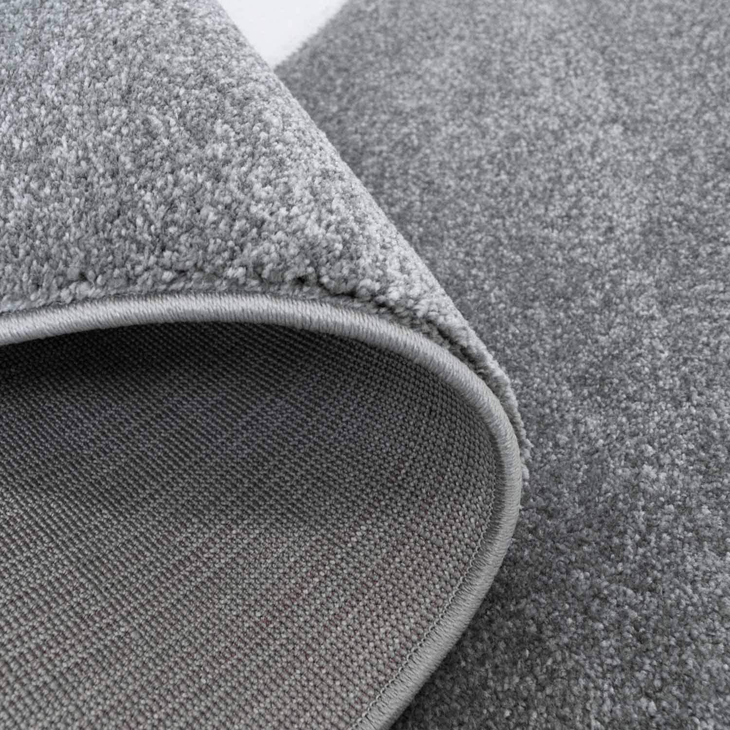 Cut Shiny Yarn for Nursery 80//150 cm Carpet City Childrens Rug High Quality with Panda Bear in Grey with Contour