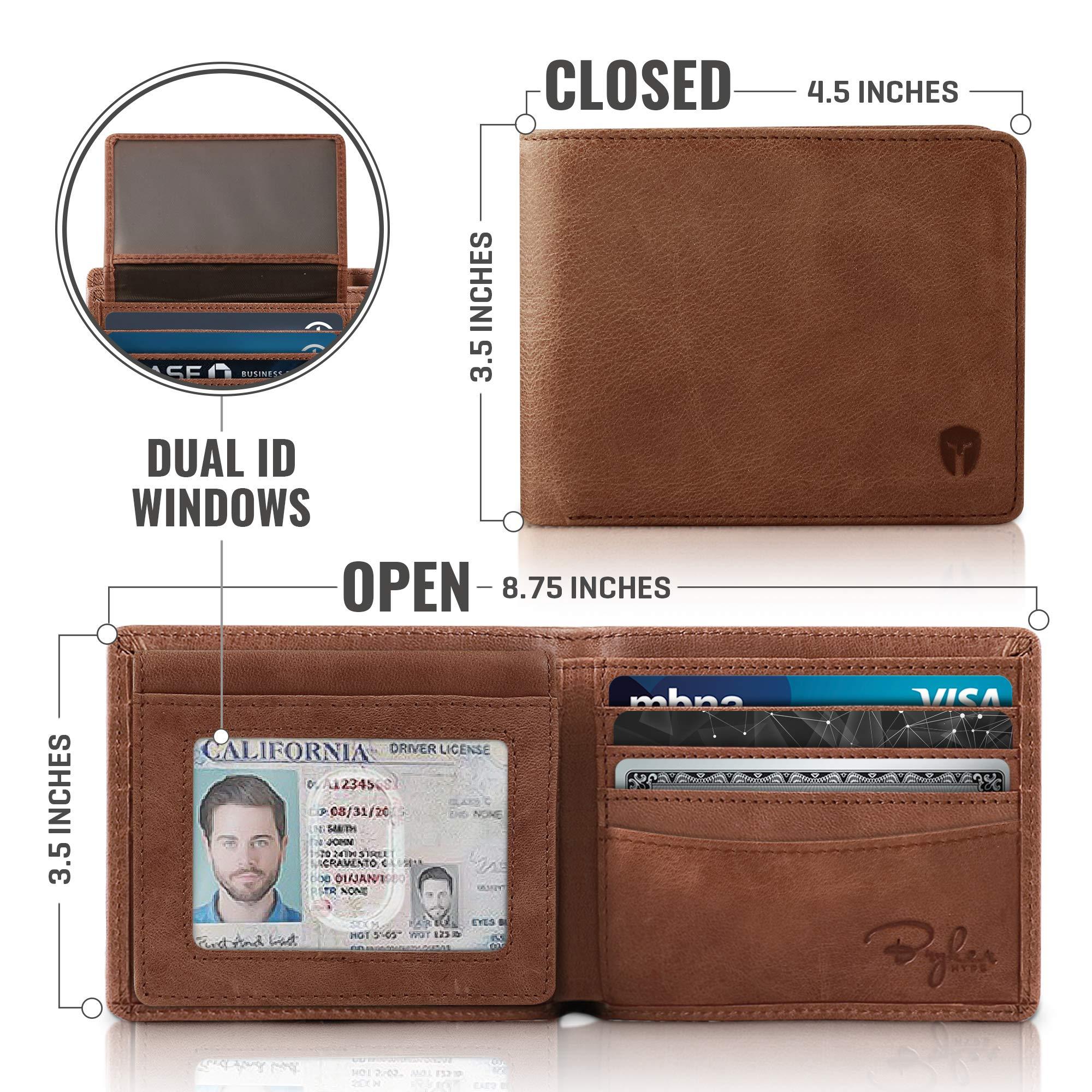 Top Flip 2 ID Window Brown by Bryker Hyde (Image #3)