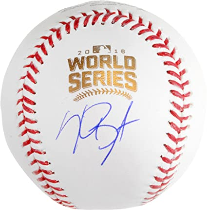 646463a05 Kris Bryant Chicago Cubs Autographed 2016 MLB World Series Baseball -  Fanatics Authentic Certified - Autographed