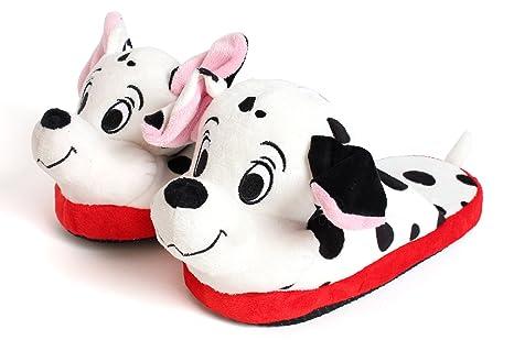 Disney Stompeez - Zapatillas de estar por casa - Diseño de dálmata - M 9sIYhJTr
