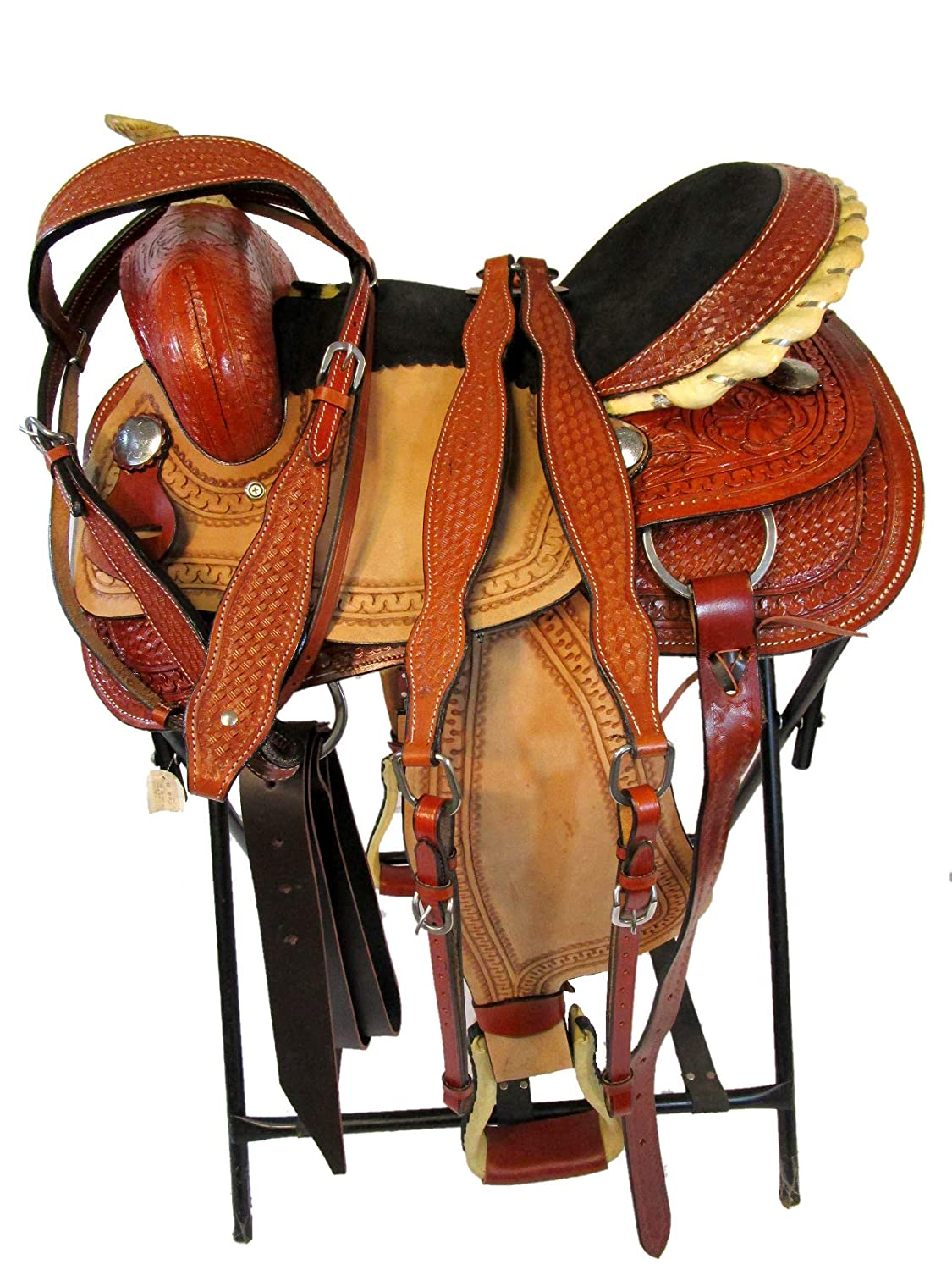 Amazon.com : Orlov Hill Leather Co 15 16 17 Western Show ...