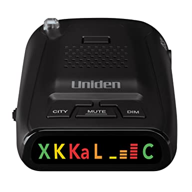 Review Uniden DFR1 Long Range Laser Radar Detection, 360° Protection, City Highway Modes, Easy-to-Read Color Icon Display Signal Strength Meter Bars