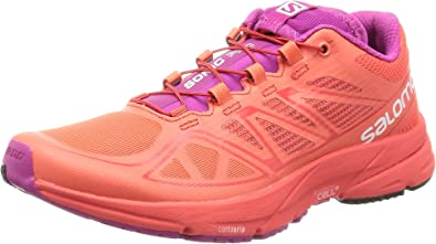 Salomon L39031500, Zapatillas de Trail Running para Mujer, Naranja (Naranja Punch/Naranja Punch/Deep Dalhia), 38 2/3 EU: Amazon.es: Zapatos y complementos