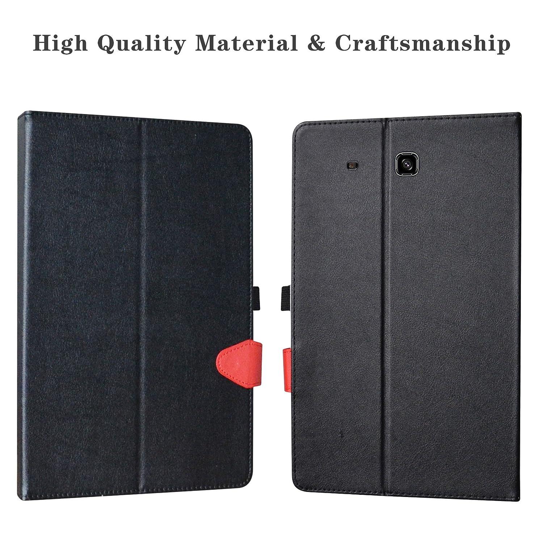 T561 Android Tablet,Violet LiuShan D/étachable Clavier Bluetooth PU Cuir Support Multi Angles Housse Coque /Étui Couverture pour Samsung Galaxy Tab E 9.6 Pouces SM-T560