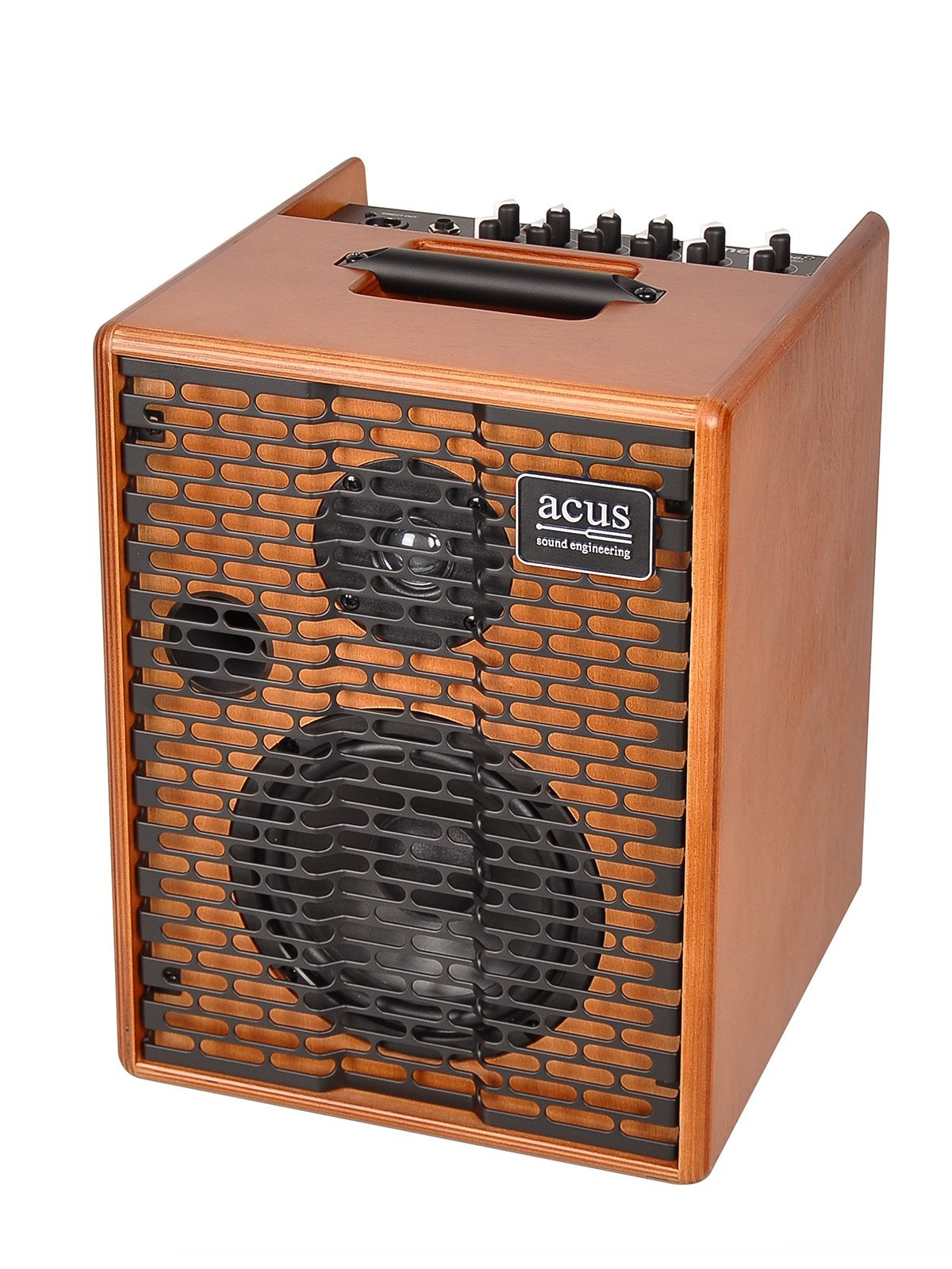 Acus Sound Engineering 03000611 OneforStreet Battery Powered Acoustic Guitar Amplifier - Wood