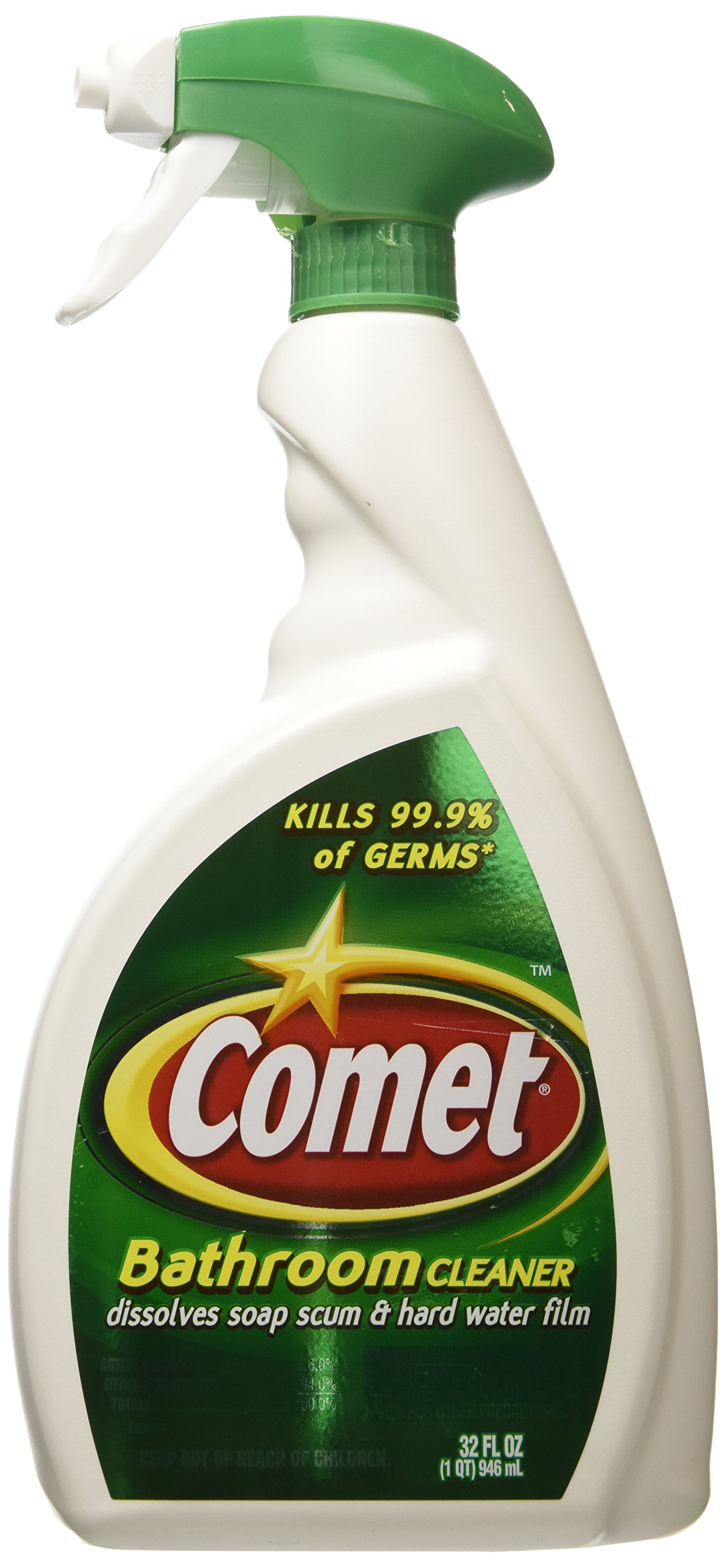 COMET BATHROOM CLEANER DISINFECTANT LIQUID 32OZ