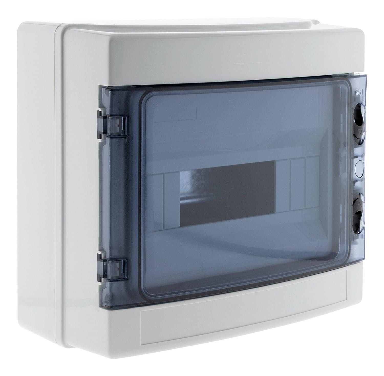 Zenitech 150204 caja estanca (IP65, color blanco: Amazon.es: Bricolaje y herramientas