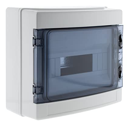 Zenitech 150204 caja estanca (IP65, color blanco