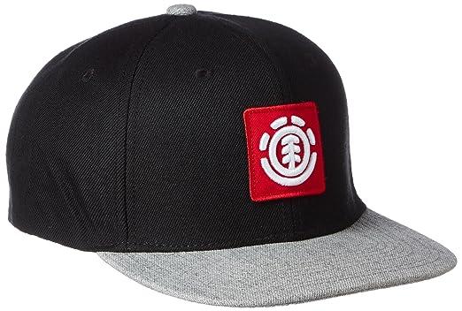 4d63f34748bd0 Amazon | (エレメント)ELEMENT 定番 スナップバック キャップ 帽子 (サイズ調整可能) 【 AH021-902 / UNITED  CAP 】 AH021-902 BLK BLK_ブラック F | キャップ 通販