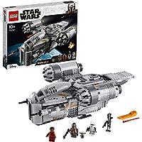 LEGO 75292 Star Wars The Mandalorian Premiejager Transportshuttle Ruimteschip speelgoed met Minifiguur van Het Kind…