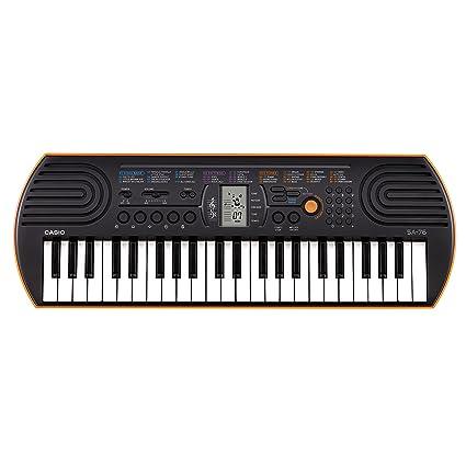 a12822666 Amazon.com  Casio SA76 44-Key Mini Personal Keyboard  Musical Instruments