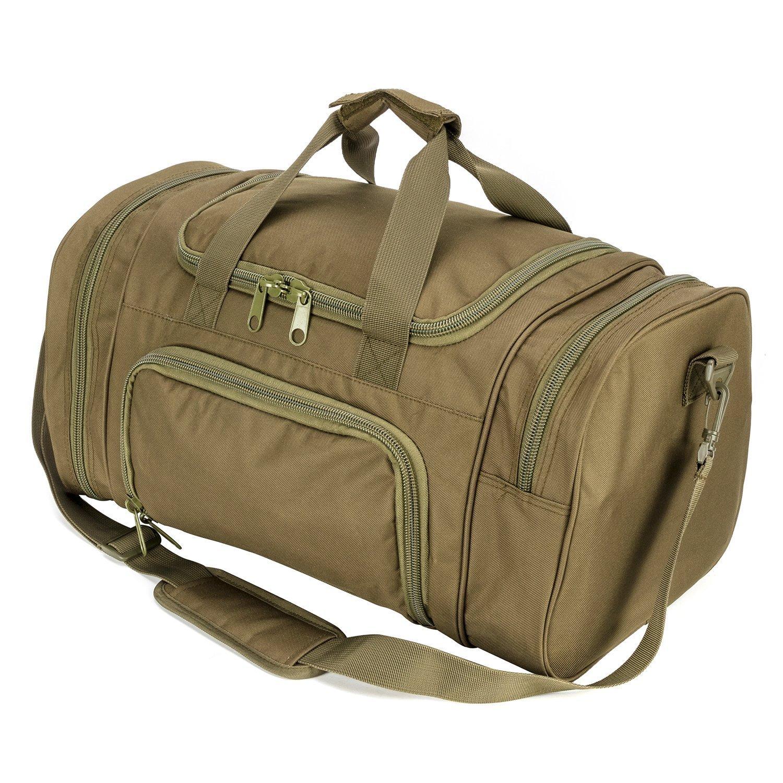 人気商品 wolfwarriorx Military O.D.Green Tactical Duffle Bag, LargeストレージバッグLuggage Bag, Duffle Duffle for旅行、ジム、ハワイアン、ハイキングトレッキング B07BN2C57Z O.D.Green O.D.Green, namename:23fc4118 --- ballyshannonshow.com