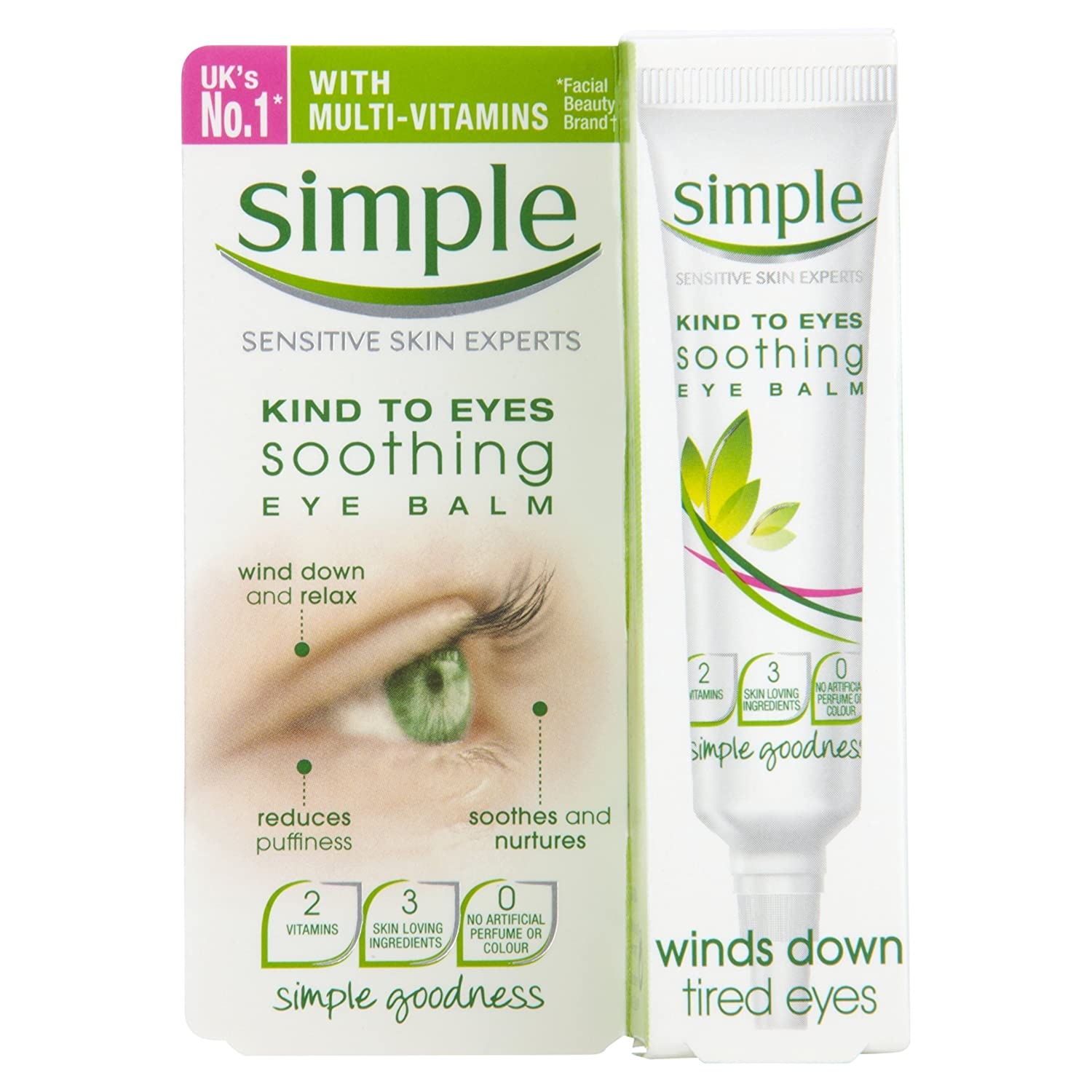 Simple Kind To Eyes Soothing Eye Balm 15 ml 9858745