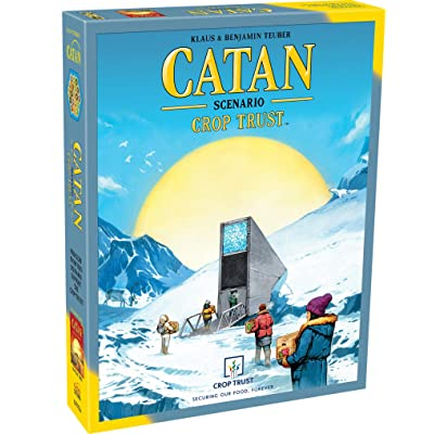 Catan Studio Scenario: Crop Trust Board Game, Standard, Multicolor: Toys & Games