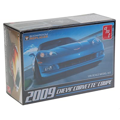 2009 Chevy Corvette Coupe 1/25 AMT/MPC: Toys & Games