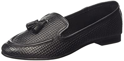New Look Kentucky - Mocasines Mujer, color negro (01/black), talla